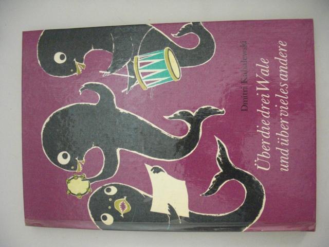 Über die drei Wale und über vieles andere Hans Mau (Illustrator)