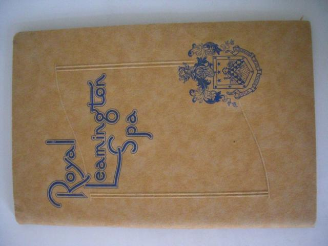 Royal Leamington Spa, Official handbook prepared by W.J. List, Spa Manager, Leamington Spa Corporation Publicity Department