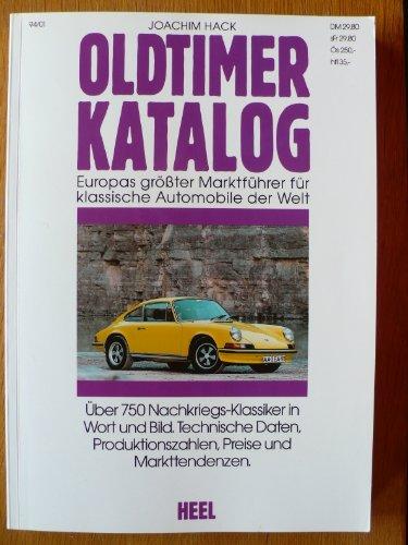 Oldtimer - Katalog VIII- Der Marktführer für klassische Automobile - über 750 Typen