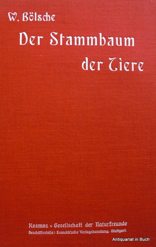 Der Stammbaum der Tiere : mit zahlreichen Illustrationen von Willy Planck 44. Tausend