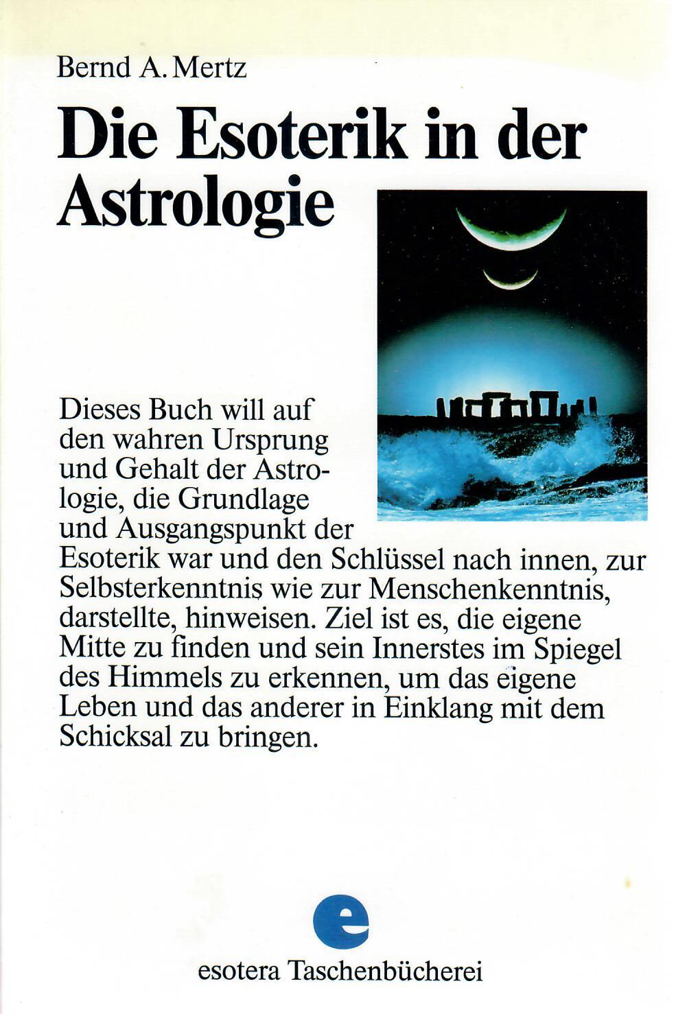Die Esoterik in der Astrologie