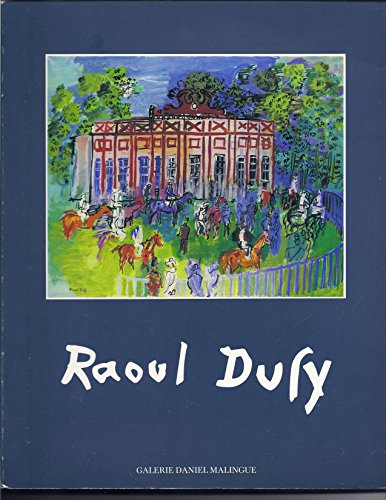 RAOUL DUFY CATALOGUE D