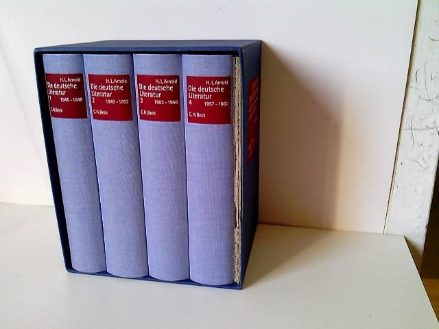 Die deutsche Literatur 1945-1960, 4 Bde.