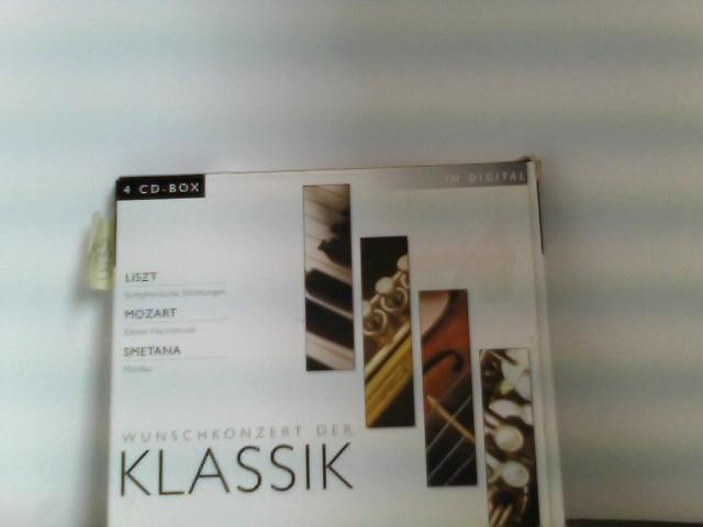 Wunschkonzert der Klassik 4-CD-Box