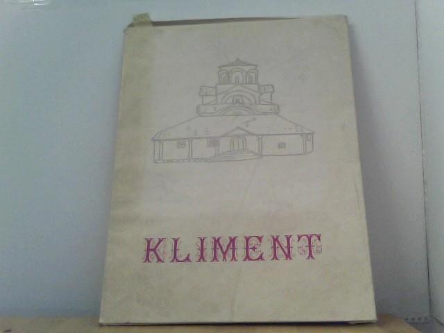 Kliment (Sainte Vierge Perivleptos). L´heritage culturel et historique de la Rèpublique Populaire de Macédoine. Kliment VI.