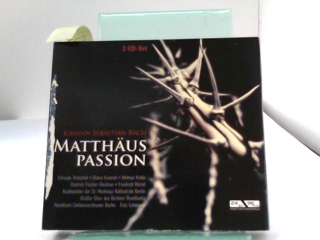 Matthäuspassion Bwv 244