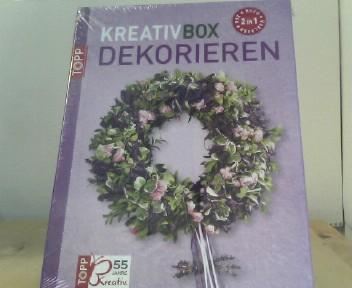 Kreativ-Box Dekorieren: 3 in 1 - Box + Buch + Vorlagen