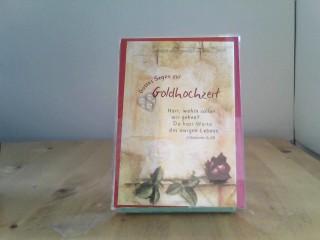 """Faltkarte """"Gottes Segen zur Goldhochzeit - Herr, wohin sollen wir gehen..."""" - 5"""