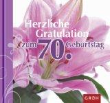 Herzliche Gratulation zum 70. Geburtstag