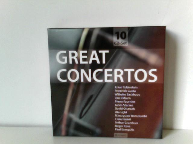 Great Concertos (10 Audio-CDs)