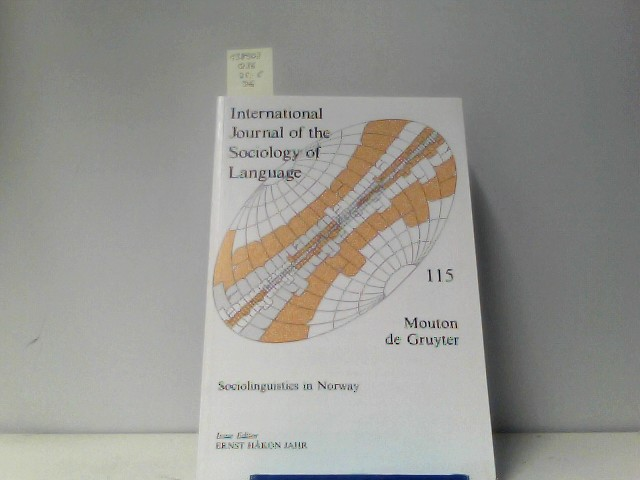 International Journal of the Sociology of Language, 115, Sociolinguistics in Norway