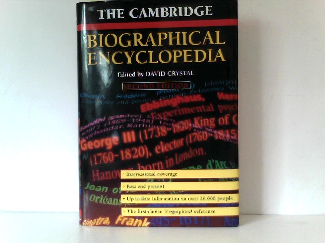 The Cambridge Biographical Encyclopedia.