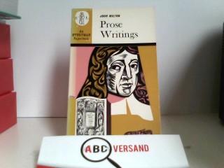 Prose Writings of Milton (Everyman Paperbacks)