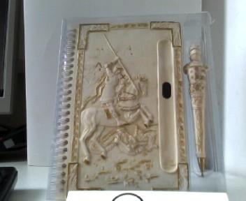 Adressbuch mit Spiralbindung mit Kugelschreiber - NEUHEIT - FIGUREN