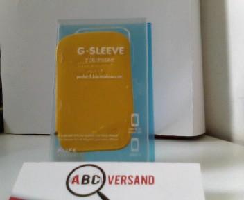 Alifedesign Handyhülle G-SLEEVE für iPhone - yellow