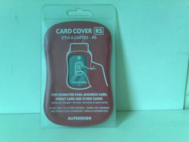 Kartenschutzhülle CARD COVER pink