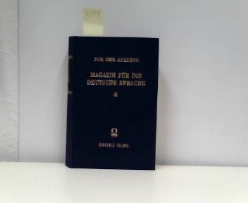 Magazin für die deutsche Sprache. Bd. 2. Stück 1/4