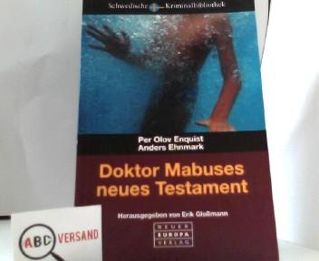 Dr. Mabuses neues Testament Auflage: 1