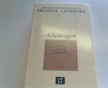 ALLEMAGNE. Juridique, fiscal, social, comptable, 5ème édition 1996