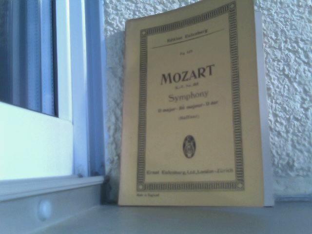 Mozart - Symphony C major (Haffner) Edition Eulenburg - Paynes kleine Partitur Ausgabe No.437