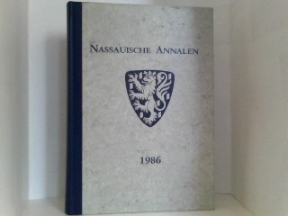 Nassauische Annalen 1986