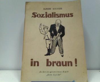 Sozialismus in braun