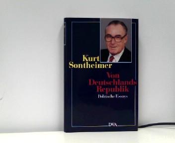 Sontheimer, Kurt: Von Deutschlands Republik