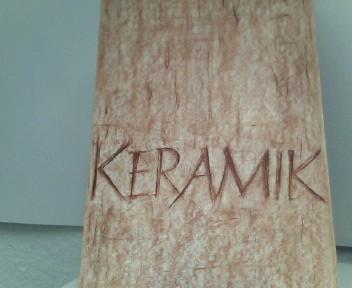 Keramik - 1. Sonderheft der Deutschen Keramischen Gesellschaft e. V. Schriftleitung Prof. Dr. A. Dietzel