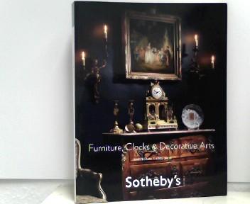 Sotheby's (Hrsg.): Sotheby's - Furniture Clocks & Decorative Arts - Amsterdam, 7 April 2009