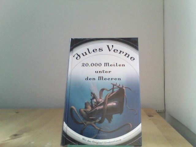 Jules, Verne: 20.000 Meilen unter den Meeren (Roman) - mit Illustrationen