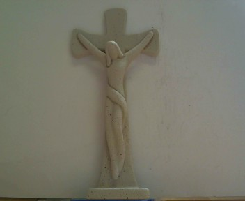 Steinfigur Kreuz