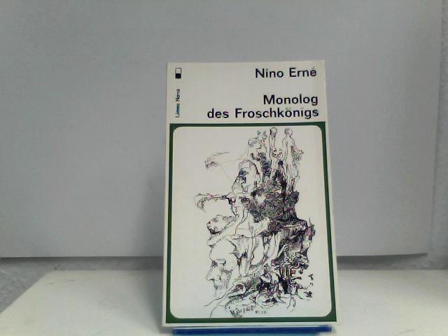 Erne, Nino: Monolog des Froschkönigs. Von Nino Erne. (= Limes Nova 17).