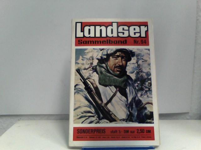 o, A.: Der Landser Sammelband Nr. 94, Rote Auflage