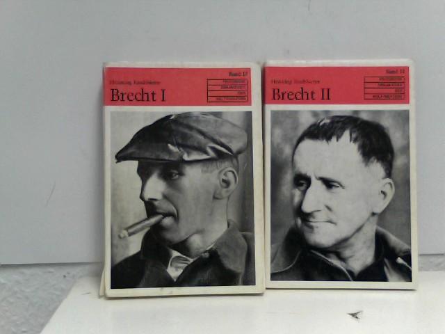 2 Bücherpacket/Konvolute, Bertolt Brecht I und II, Band 13 und 14