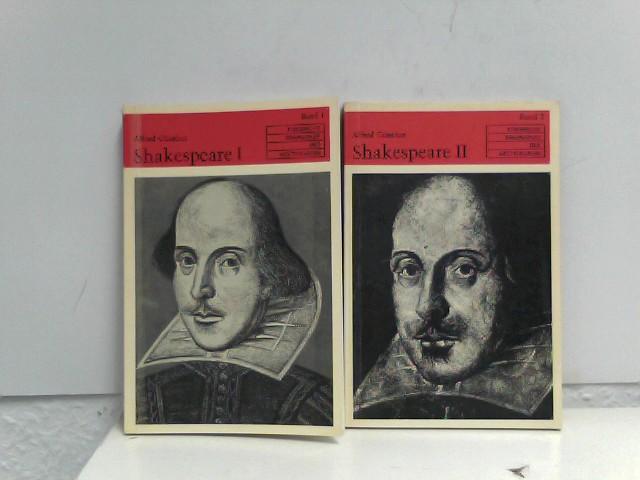 2 Bücherpacket/Konvolute, Shakespeare I und II, Band 1 und 2,