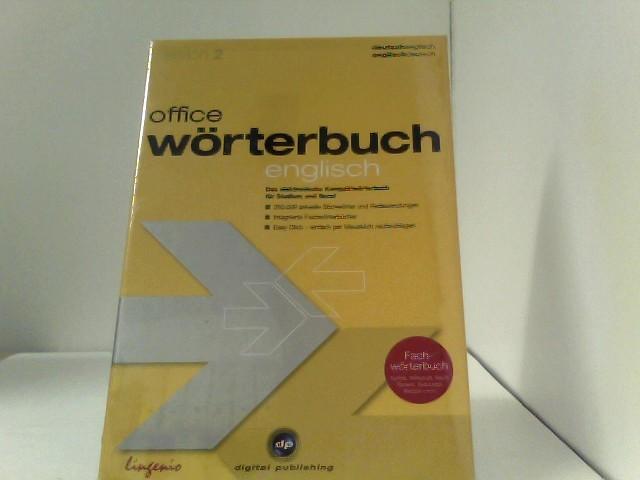 office wörterbuch 2.0 Deutsch/Englisch