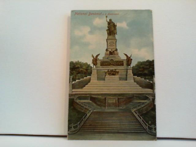 Foto-AK National Denkmal a. d. Niederwald; coloriert