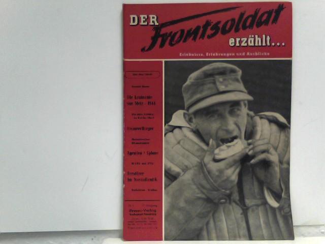, Diverse: Der Frontsoldat erzählt... 17. Jahrgang 1953. Nr. 3