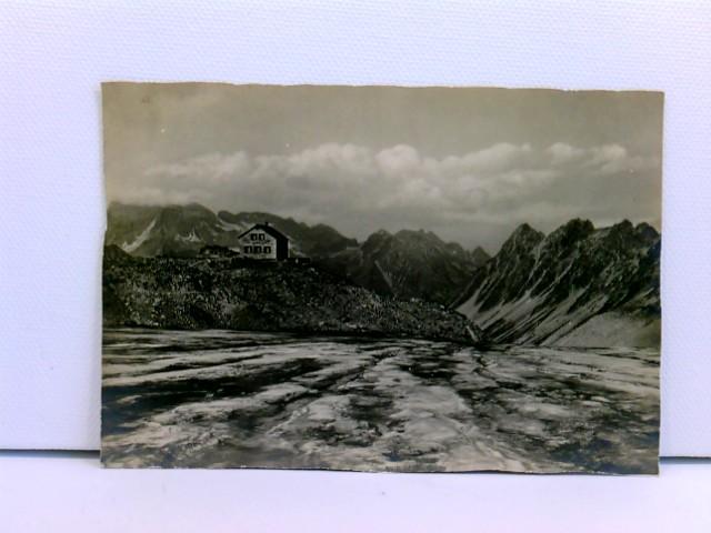 seltene Foto-AK Cavardiras-Hütte (2705 m) der Sektion Winterthur des S.A.C. (bei Disentis)