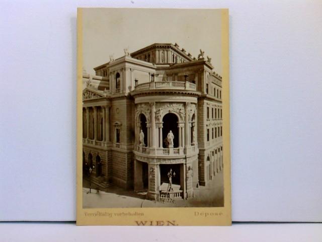 Kabinettfoto Wien; M. Frankenstein & Co.