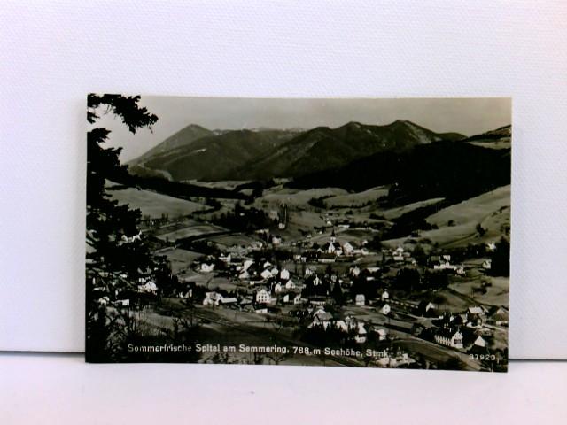 Foto-AK Sommerfrische Spital am Semmering, 788 m Seehöhe, Steiermark