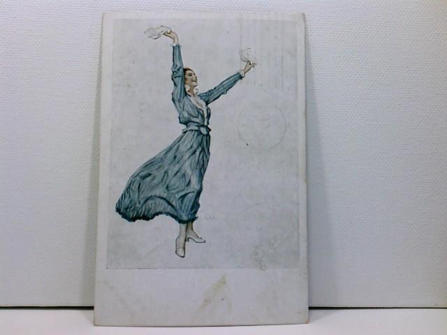 Künstler-AK Wennerberg-Kriegspostkarten, WK1; Nr. 24, In der Heimat, in der Heimat ...