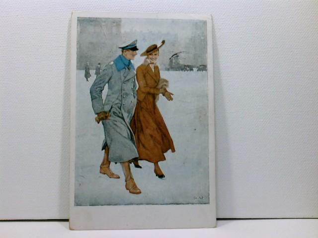 Künstler-AK Wennerberg-Kriegspostkarten, WK1; Nr. 14, Renommierbummel