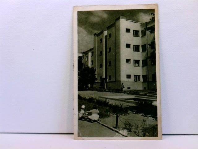 Foto-AK Warschau, Kolonia mieszkaniowa na Zoliborzu; mit spielenden Kindern; Warszawa