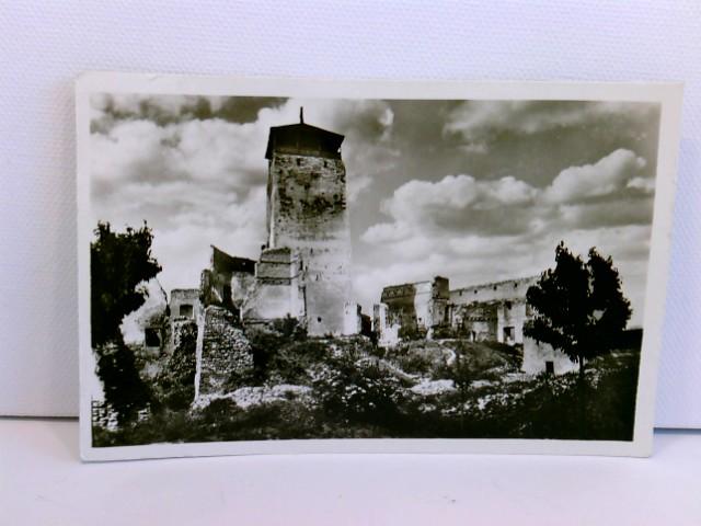 seltene Foto-AK Trencin, Burg; Trentschinteplitz