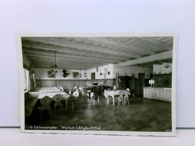 Foto-AK Wertach i. Allgäu, Café Schimmelreiter
