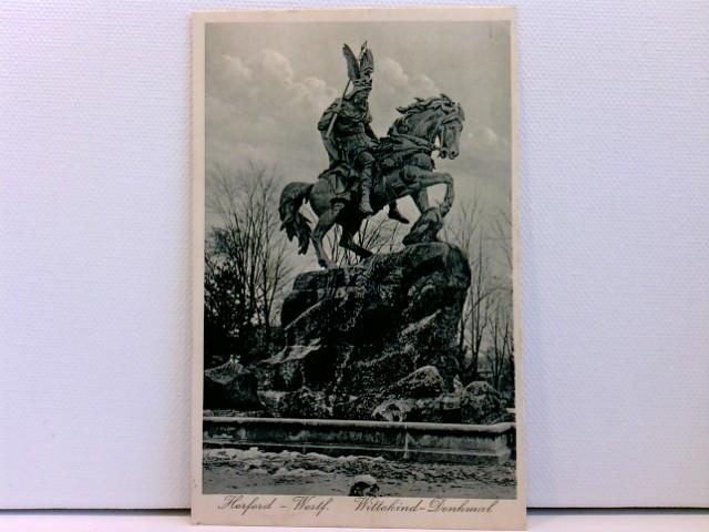 AK Herford Westf., Wittekind-Denkmal