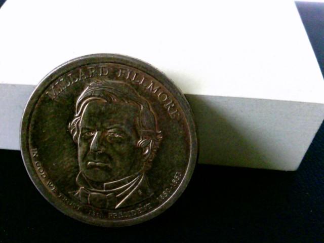 1 US Dollar: United States of America, Millard Fillmore, In God we trust. 13 th President  1850 - 1853