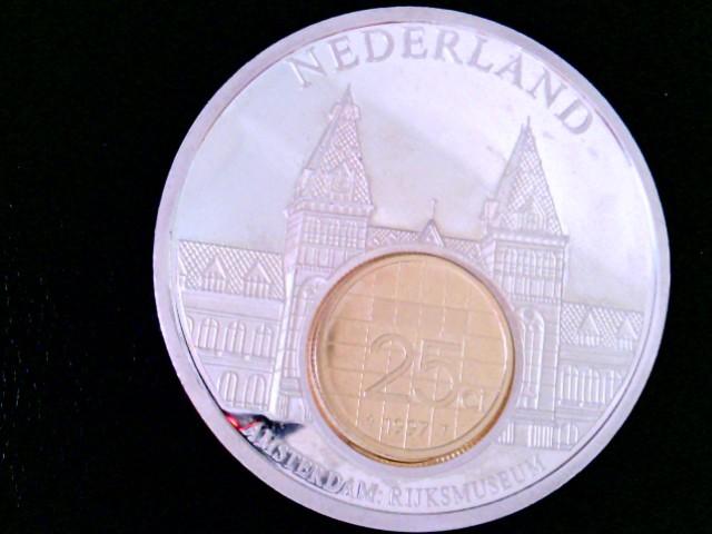 Nederland: Amsterdam Rijkmuseum, European Currencies