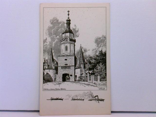 Künstler-AK Steinertor in Krems a. d. Donau; Ulf Seidl: Wachau